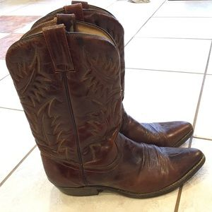 Other - Men's Leather Cowboy Boots